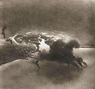 Bombing of dutch flying planes