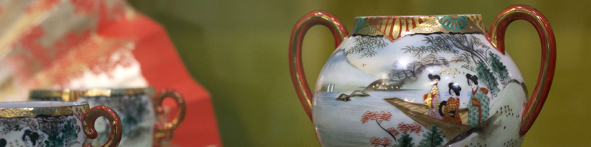 Old japanese teapot