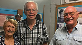 Volunteers at Broome Museum