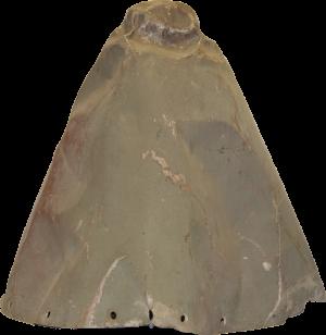 Nose cone of zero fighter plane